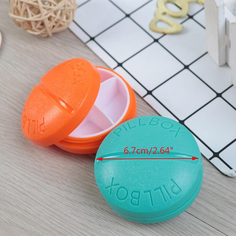 4/6 Slots Moisture-proof  Travel Pill Box Organizer Tablet Medicine Storage Dispenser Holder Health Care Tool 6