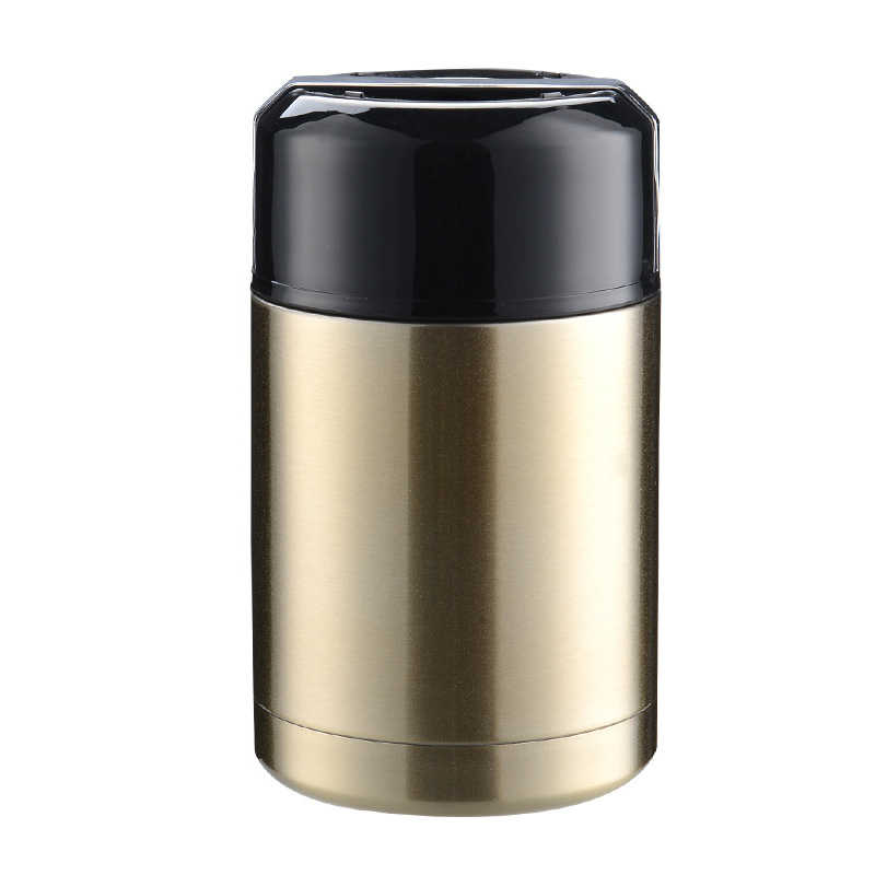 Reizen Lunchbox Pap Stoven Beker Grote Capaciteit Roestvrijstalen Thermoskan Draagbare Geïsoleerde Lunch Box Stoven Pot