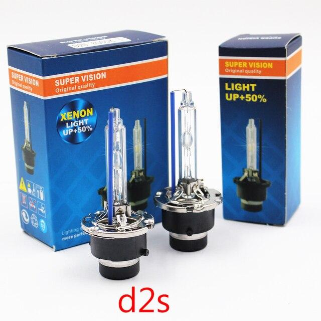 Hid lampadina D1S D2S D3S D4S xenon HID faro lampadine AC 12V 4300K 5000K 6000K 8000K D4S D3S D1S D2S CBI lampadina del faro Allo Xeno lampada