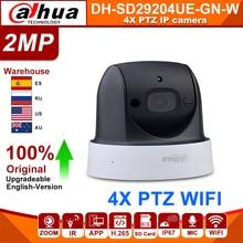 Original Dahua SD29204T GN W 2MP 1080P 4X Optische Zoom PTZ WiFi Netzwerk IP Kamera CCTV 30M Nachtsicht Wireless WDR ICR DNR IVS
