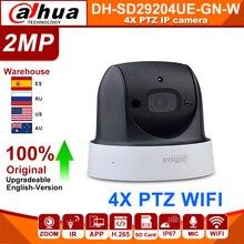 Originale Dahua SD29204T GN W 2MP 1080P 4X Zoom ottico PTZ WiFi rete IP telecamera CCTV 30M visione notturna Wireless WDR ICR DNR IVS