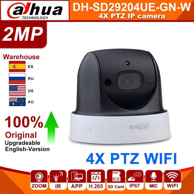 オリジナル大華SD29204T GN W 2MP 1080 1080p 4X光学ズームptz無線lanネットワークipカメラcctv 30メートルナイトビジョンワイヤレスwdr icr dnr ivs