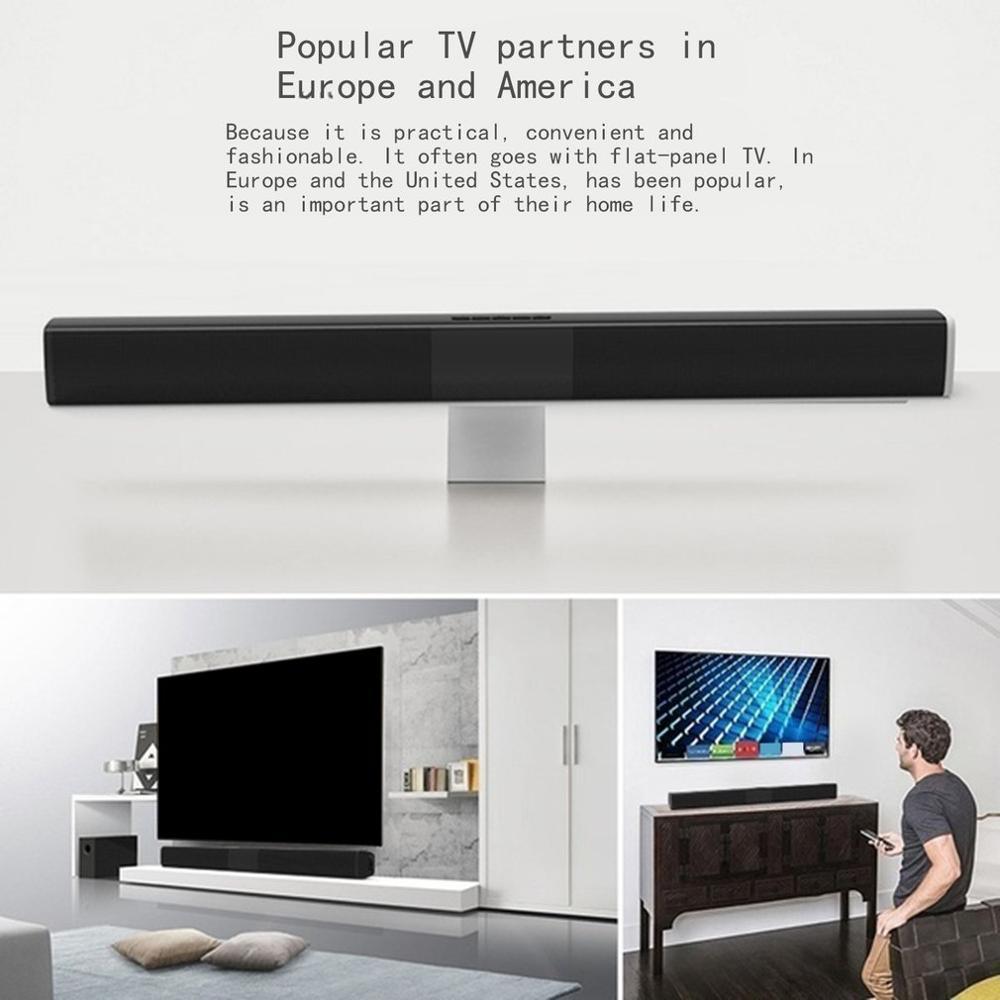 40W Portable Wireless Column Soundbar Sven Bluetooth Speaker Powerful 3D Music Sound bar Home Theater Aux 3.5mm TF For TV PC 4