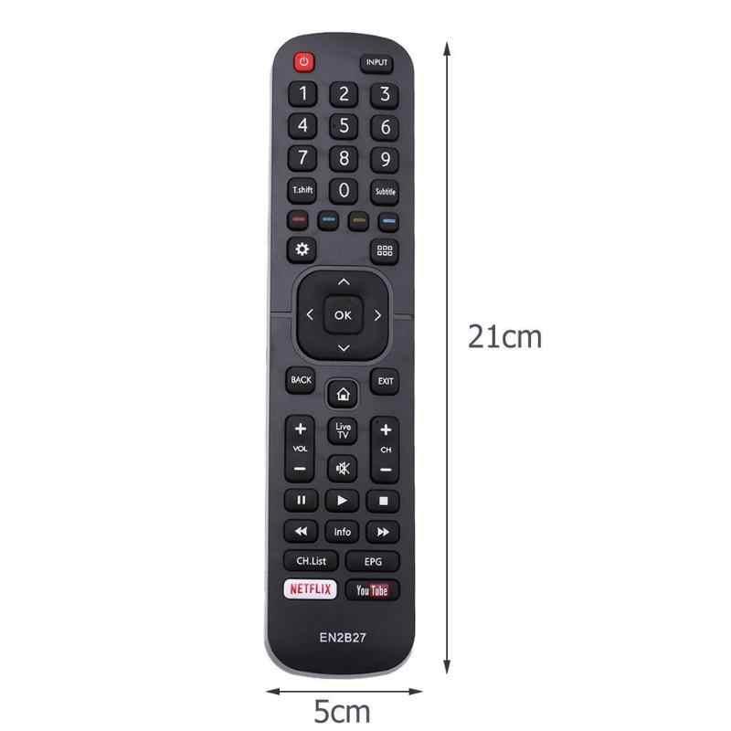 EN2B27 Voor Hisense Smart Tv Afstandsbediening Vervanging 32K3110W 40K3110PW 50K3110PW 40K321UW 50K321UW 55K321UW Dropshipping