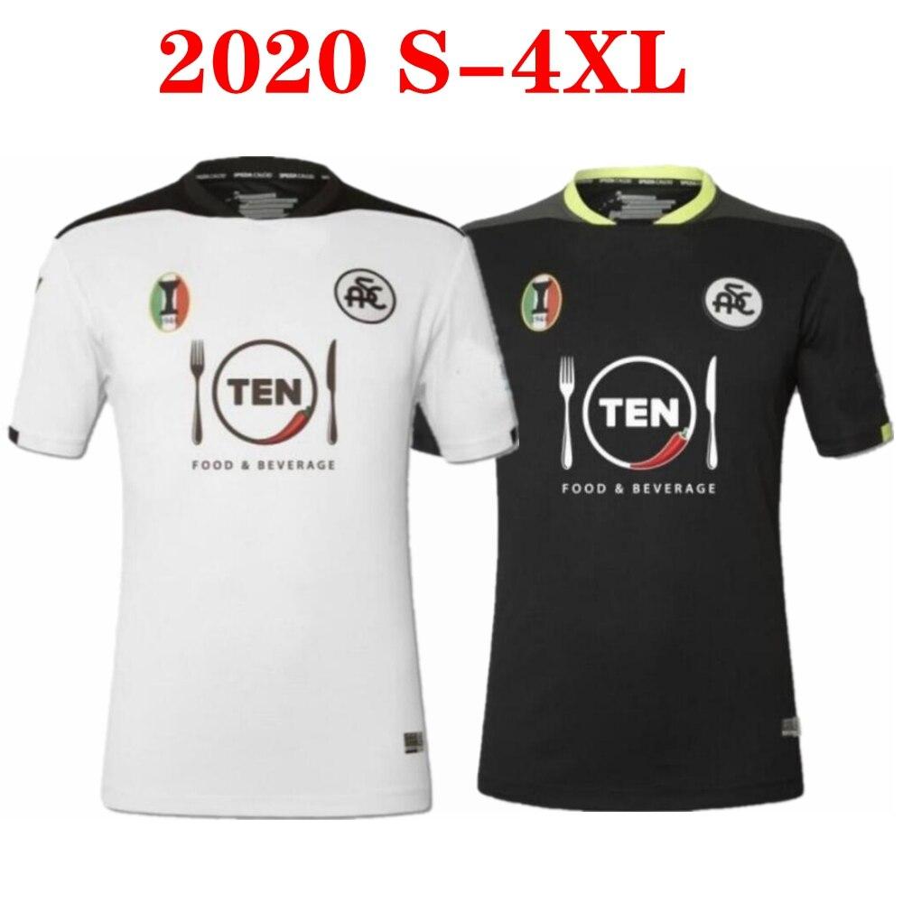 Camisetas de fútbol Spezia Calcio, talla 4XL A.Galabinvo E.Gyasi Ricci Lucio gtera Verde Little eagles 20 21, 2020, 2021|Camisetas| - AliExpress