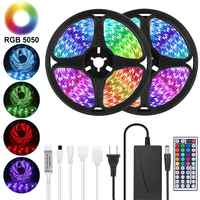 Cinta LED Goodland 12V cinta luminosa LED RGB cinta SMD 5050 2835 Flexible 5M 10M diodo cinta con retroiluminación remota para TV