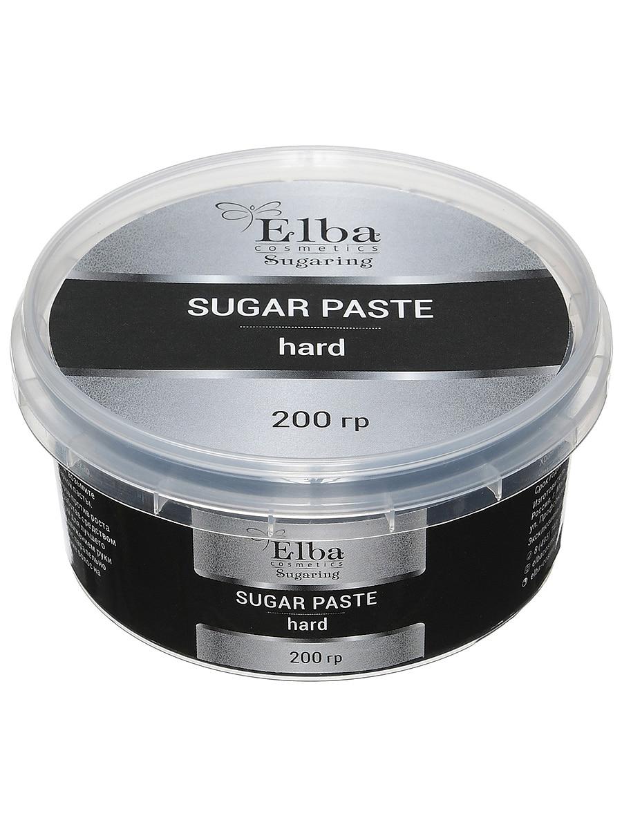 Сахарная паста с шунгитом плотная 200гр elba cosmetics