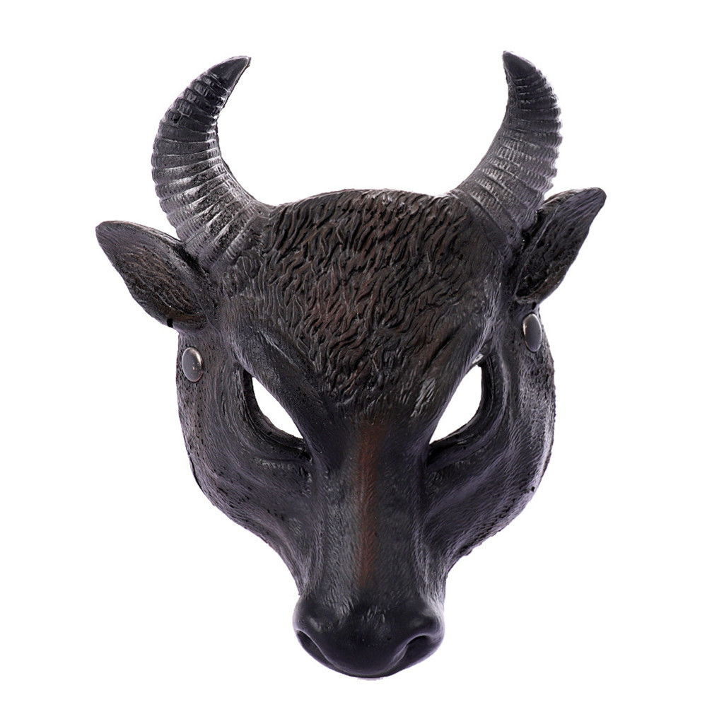 Unisex Villain Halloween Christmas Carnivals Costume Party Ball Halloween Mardi Gras Full Face Animal Mask Masquerade 20H