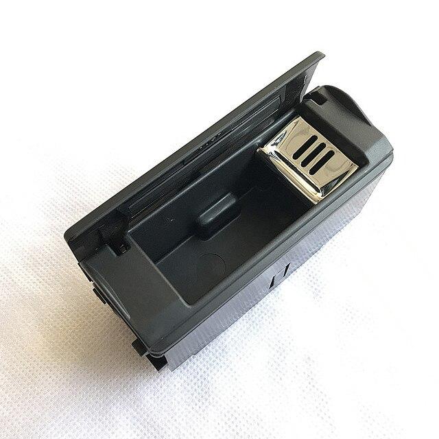 Cendrier noir pour AUDI A6 C6 / AUDI Q7 / AUDI A6 C5 | 1 paire de panneau de porte pour passager arrière