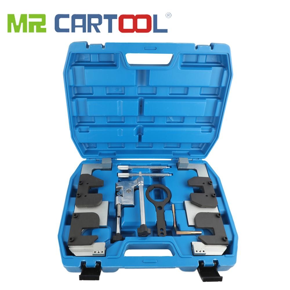 MR CARTOOL Engine Camshaft Alignment Timing Locking Tools Kit For BMW S63 M3 M5 Timing Special Tool Set