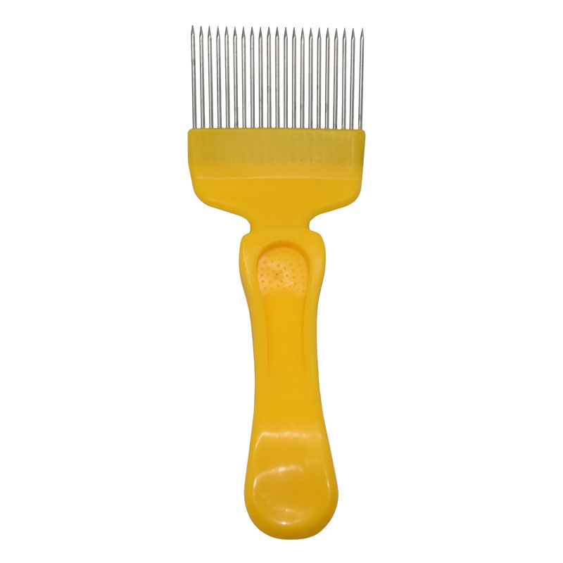 BEE Tool Uncapping Fork Comb Stainless Steel 21 Pin Scratcher Beekeeping