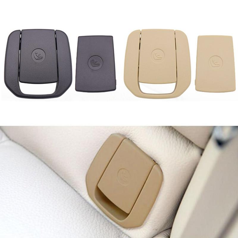 Крючок для заднего сиденья автомобиля ISOFIX, чехол для детского удерживающего устройства для BMW X1 E84 3 серии E90/F30 1 серии E87, черный/бежевый