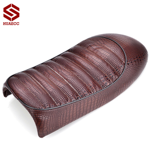 Motorcycle Retro Vintage Cafe Racer Hump Seat Saddle Scramble Flat Pan for CB CL Series CL100 CL125S CL200 CB500 CB550