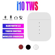 2020 nowy oryginalny i10 tws bezprzewodowy zestaw słuchawkowy bluetooth 5 0 zestaw słuchawkowy dla Android IOS PK i500 i200 i100 i60 i30X i7s i14 i11 i12 i18 tanie tanio ONEVAN Inne wireless 120dB Do Gier Wideo Wspólna Słuchawkowe Dla Telefonu komórkowego Sport Instrukcja obsługi Etui do ładowania