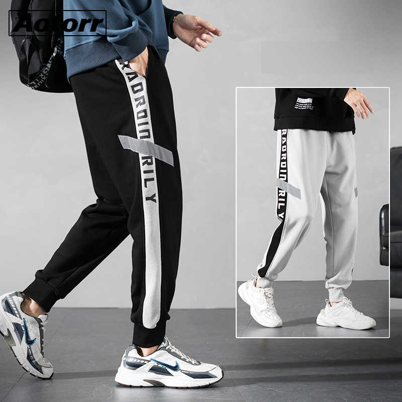 Heren Joggers Casual Broek Losse Mannen Sportkleding Trainingspak Bodems Mode Joggingbroek Broek Sportscholen Jogger Trainingsbroek 4XL