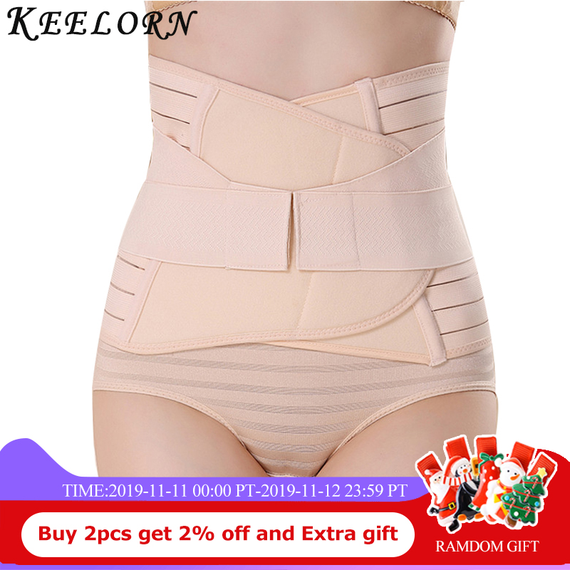 Keelorn Postpartum Belly Band&Support 2019New After Pregnancy Belt Belly Maternity Bandage Band Pregnant Women Shapewear Clothes