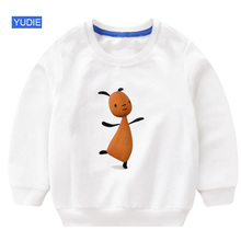 baby girls sweatshirt Cartoon fall kids clothes for Fashion toddler Casual Active girl cute Rabbit