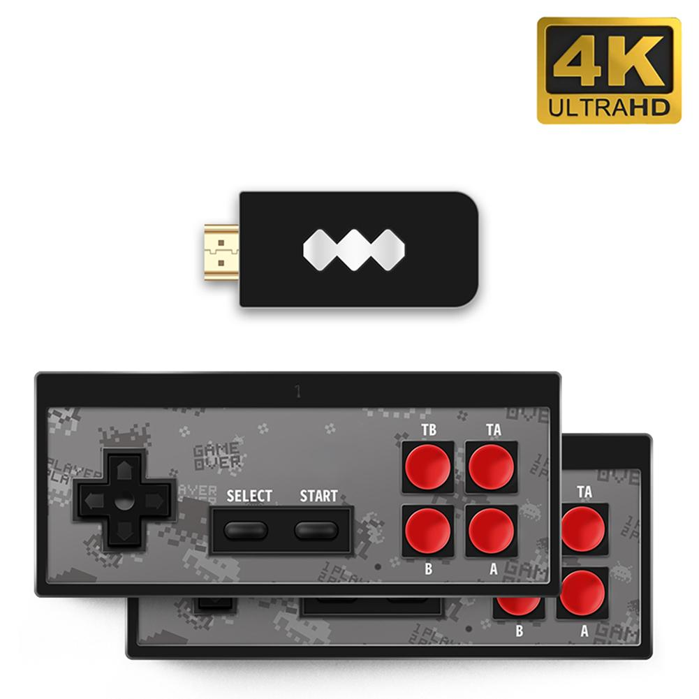 Retro Game Console HDMI HD Built-in 568 Classic Video Games USB Handheld Retro Gamepad Controller Family Games Holiday Gifts image