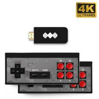Retro Game Console HDMI HD Built in 568 Classic Video Games USB Handheld Retro Gamepad Controller Family Games Holiday Gifts