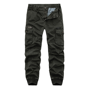 Image 4 - New 2019 Brand Casual Joggers Solid Breathable Pants Men Summer Army Military Style Trousers Mens Tactical Cargo Pants Male