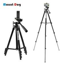 Регулируемый мини штатив MountDog 35 85 см, подставка для телефона, держатель с зажимом для телефона, для экшн камеры GoPro