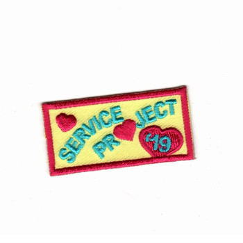Custom embroidery patches service project yellow twill 75% embroidery area hot cut border iron on patches for cloth jacket hat image