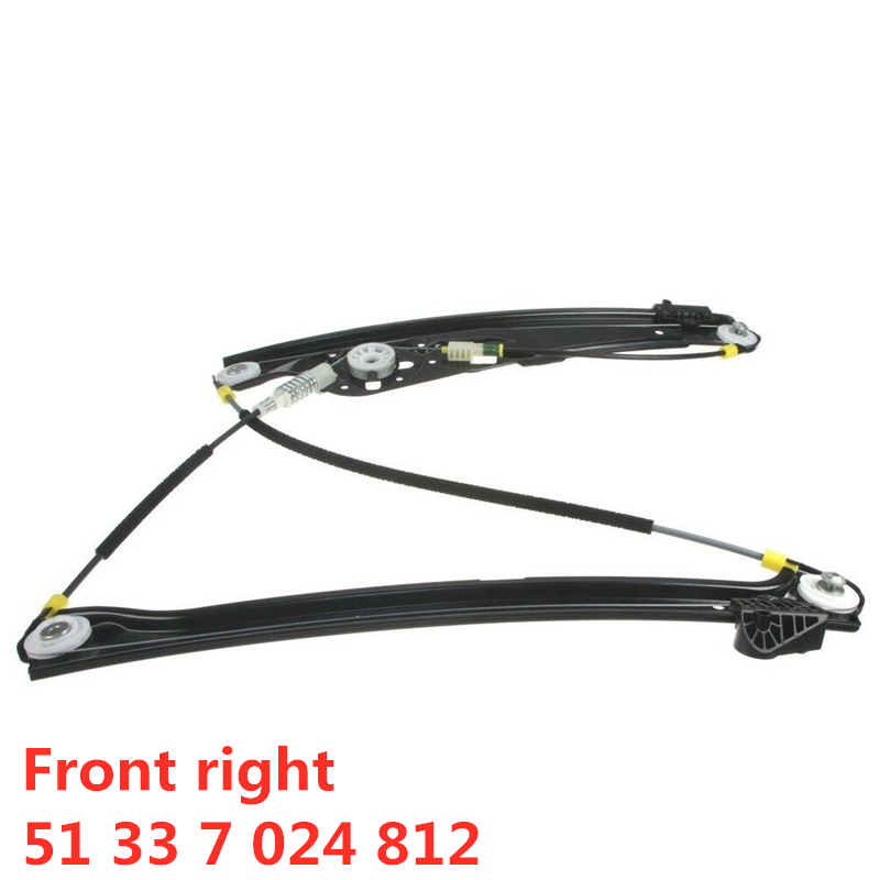 For BMW E65 E66 E67 745 750 760 I Li  For Alpina B7 Front Right Window Regulator 51 33 7 024 812  51337024812