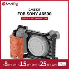 SmallRig 6500 Khung Máy Ảnh Bộ Cho Sony A6500 Camera Với Tay Cầm Bằng Gỗ Cầm Form Ôm A6500 Lồng Năng 2097