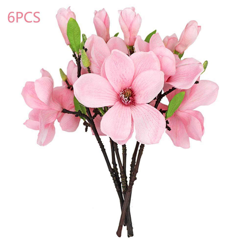 Artificial Magnolia Flower Arrangement