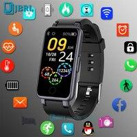 Reloj inteligente deportivo para hombre y mujer, pulsera con Monitor de ritmo cardíaco, resistente al agua, para Android e IOS