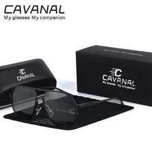 Photochromic Sunglasses Men Polarized Driving Chameleon Aluminum Magnesium Men's Sunglasses Classic Zonnebril Heren 2021