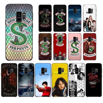 Riverdale South Side Serpents phone Coque For Samsung Galaxy A10 30 20 40 50 30S A70 A10S 20S A2Core A71 A9 star lite Cover image