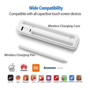 Активный стилус поддерживает беспроводную зарядку для Apple Xiaomi Huawei Samsung iPhone Tablet Smart Touch Pen