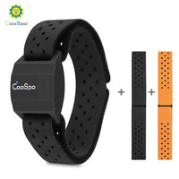 CooSpo Heart Rate Monitor Armband Optical Fitness Outdoor Heart Rate Sensor Bluetooth 4.0 ANT+ For Garmin Wahoo Bike Computer