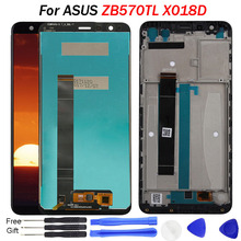 Original Pantalla For Asus Zenfone Max Plus M1 LCD Display Touch Screen Digitizer Frame X018D X018DC For ASUS ZB570TL LCD original for asus zc550tl lcd display touch screen digitizer assembl for asus zenfone 4 max plus zc550tl lcd frame x015d replace