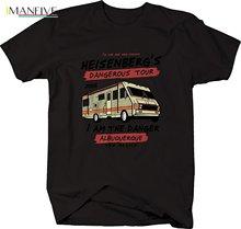 Mens T Shirts Fashion 2019 M22 Heisenberg Dangerous Tour New Mexico Breaking Bad RV Tshirt Shirt Short Sleeve