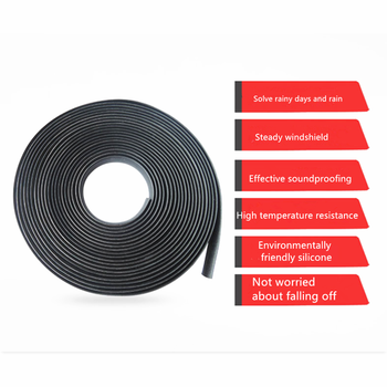 2019 new hot Car Window Sealant Rubber Sunroof Sealed Strips for Great Wall Haval Hover H3 H5 H6 H7 H9 H8 H2 M4 for Chery A1 A3 image