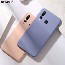 Liquid State case for Huawei Enjoy 9 Plus TPU silicone soft 9e 9s Matte Color Back cover Case capa