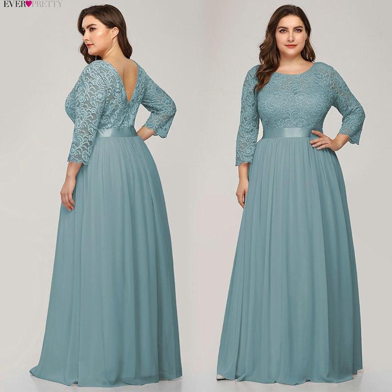 Ever-pretty vestidos de baile elegantes, azul marinho,
