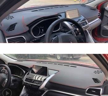 Deska rozdzielcza samochodu pokrywa mata roleta przeciwsłoneczna do samochodu lekka tarcza deska rozdzielcza zabezpieczenie do dywanu dla Mitsubishi ECLIPSE CROSS 2018 2019 tanie i dobre opinie CN (pochodzenie)