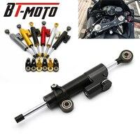 For Kawasaki Versyys 650 Ninja 300 Universal Motorcycle Accessories Stabilizer Damper Steering MT10 XJ6 CBR 600 CB600F HORNET