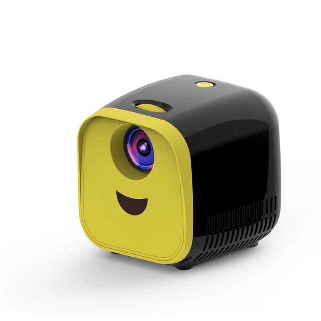 VIVI Bright L1 Newest Kids Mini Projector Full HD 1080P Mini Childrens Mini Early Education Projector Cartoon Story Gifts