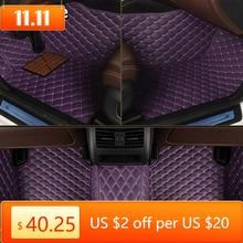 kokololee Custom car floor mats for Honda All Models CRV XRV Odyssey Jazz City crosstour civic crider vezel fit Accord car mats