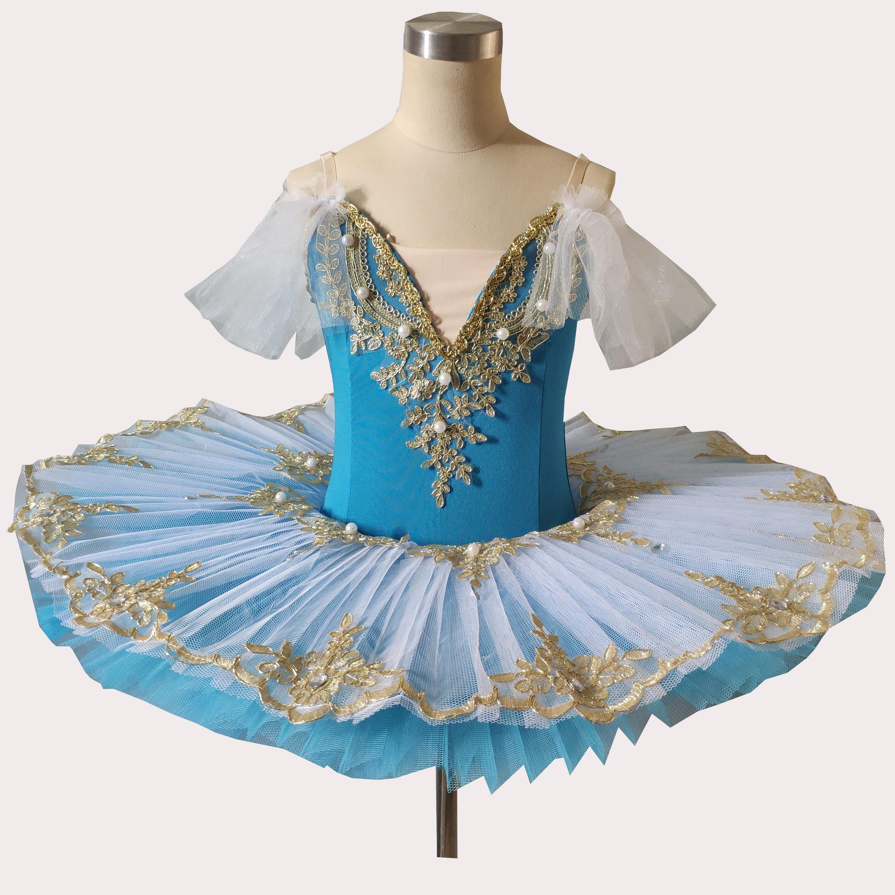 White Blue Adulto Ballet Tutu Child Kids Girls Professional Ballet Tutu Adulto Women Ballerina Dance Costumes