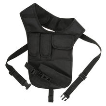 Concealed Carry Holster Multifunctional Tactical Storage Men's Left Right Nylon Shoulder Bag Anti-Theft Hunting Chest Bag