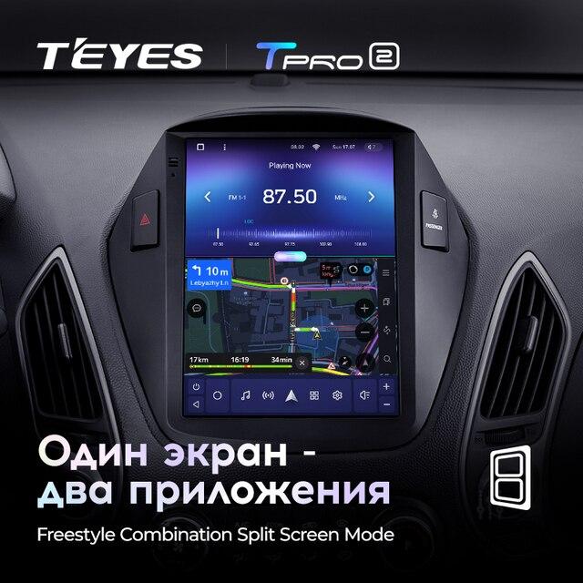 TEYES TPRO 2 Штатная магнитола For Хендай Туксон 2 LM For Hyundai Tucson 2 IX35 2009 - 2015 For Tesla style screen For Тесла Стиль Экран Android 2DIN автомагнитола 2 DIN GPS мультимедиа автомобиля головное устройство 5