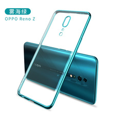 Plating Case OPPO Reno Ace Case Plating Transparent Cover for Oppo Reno Z Coque phone case