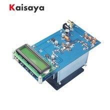 50W 87.5M-108MHz 12 13.8V PLL Stereo FM Transmitter Maximum to 70W Digital LED Radio Station module with heatsink fan H4 002