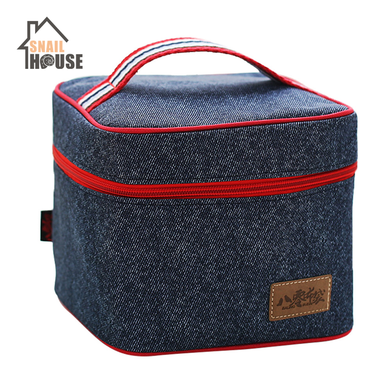 Snailhouse Large-capacity Mummy Bags Insulation Preservation Bag Aluminum Foil Lunch Bags Infant Food Thermal Bag for Baby Care image