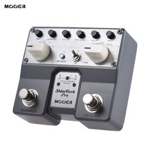 MOOER ShimVerb Pro Digital Reverb Guitar Effect Pedal with Shimmer Effect 5 Reverberation Modes guitar accessories guitar pedal(China)